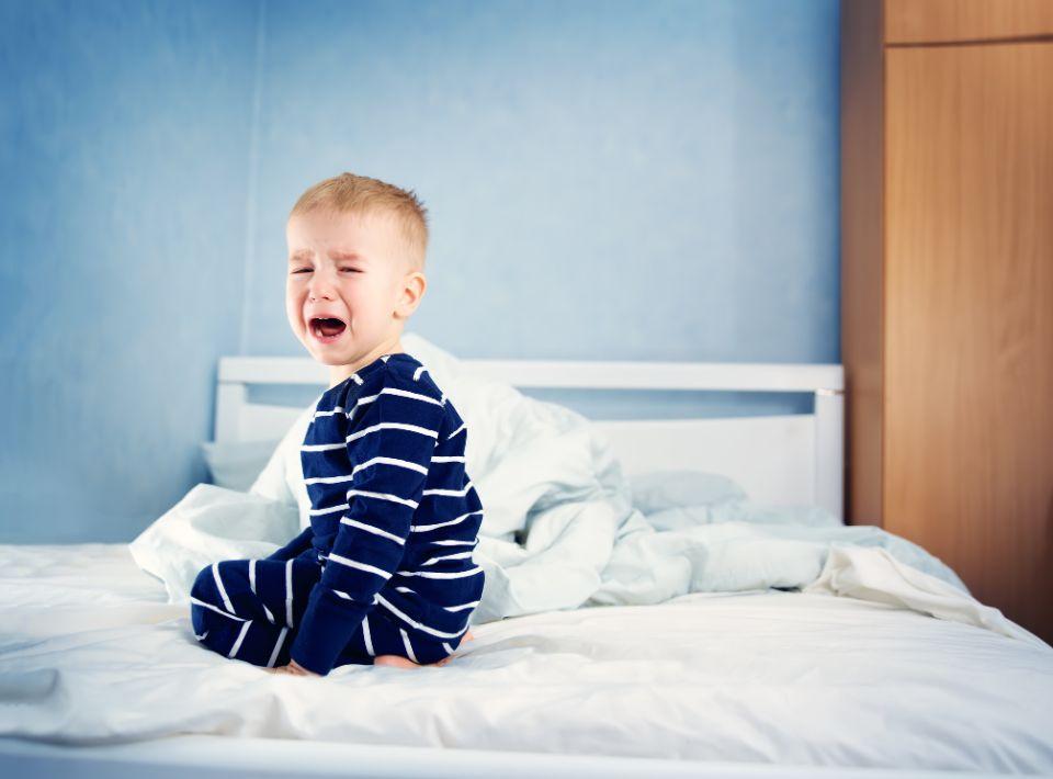 Was tun, wenn das Kind nicht einschlafen kann?