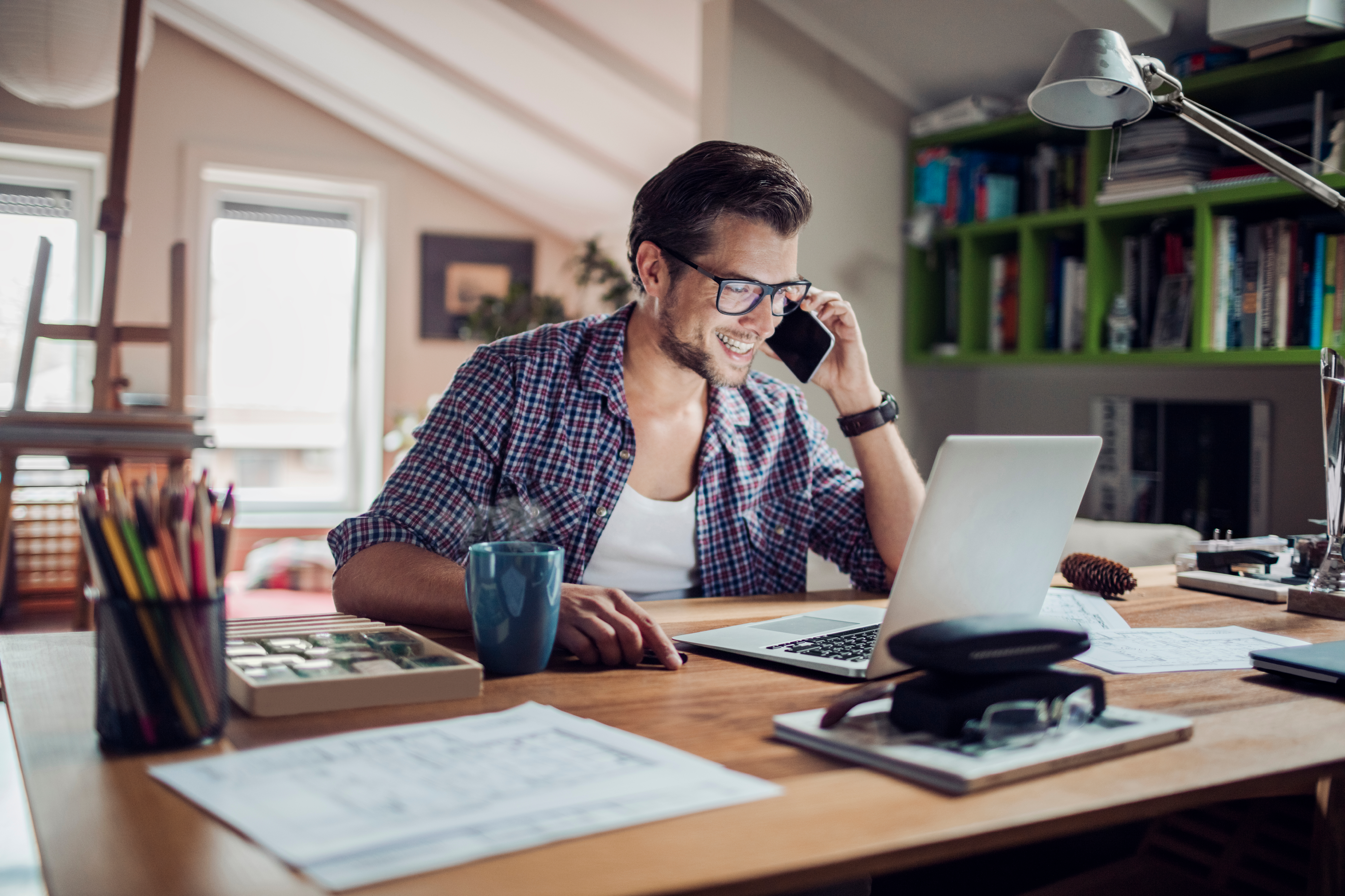 Home-Office: Worauf Unternehmen achten müssen | BKK Mobil Oil